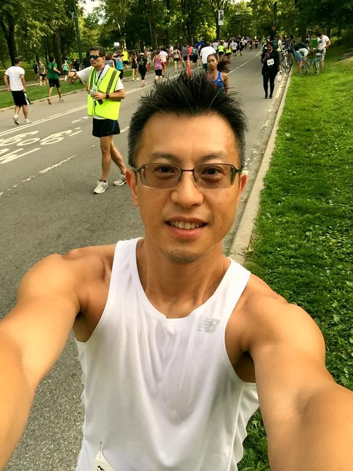 Runner Selfie